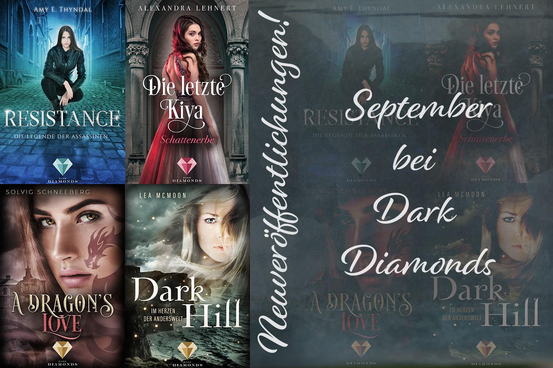 Septemberveröffentlichungen bei Dark Diamonds